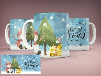 Tasse LET IT SNOW