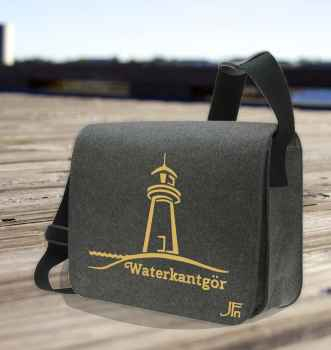 Courier Bag Leuchtturm gold