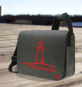 Courier Bag Leuchtturm rot